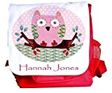 Girl's School Bag,Ruck Sack, Owl Back Pack,Nursery Bag,Infant Bag
