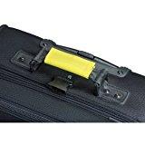 Lewis N. Clark Luggage Identifiers Handle Wraps/3 Pack (Yellow)