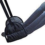 CSTOM Portable Footrest Flight Carry-on Foot Rest Travel Pillows Leg Hammock