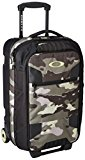 Oakley Long Weekend Cabin Trolley Suitcase with Wheels, unisex, Long Weekend, Olive Camo, 40 L