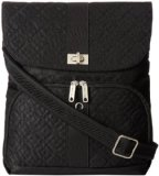 Travelon Anti-Theft Signature Messenger Bag (Black)
