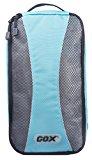 Shoe Box, GOX Premium 420D Nylon Portable Shoe Box Bag Storage / Luggage Packing Cubes / Travel Organizers with Hook (Blue)