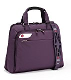 i-stay Ladies 15.6 - 16 inch Laptop Bag with Non-slip Shoulder Strap - Purple