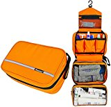 ONEGenug toilet bag waterproof Washbag cosmetic bag Hanging holiday travel toiletry bag multi-function+free Comb