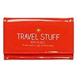 Happy Jackson Passport Wallet, 24 cm, Red