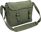 Army Travel Shoulder Military Combat Day Bag Messenger Satchel Canvas Surplus Haversack New Pack