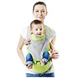 Sulida Hipseat Ergonomic Baby Carrier Backpack (Green)