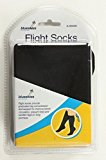 Flight Travel Socks Black Circulation Graduated Compression Support