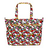 Ju Ju Be Hello Kitty Zippered Tote Diaper Bag Super Be