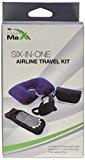 Cabin Max Travel / flight kit - inflatable neck pillow, eye sleep mask, ear plugs, flight socks and pen