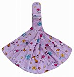 Practical Baby Carrier Front Carrier Cotton Baby Slings, Pink [Animals Pattern ]