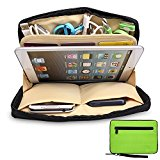 Katia Portable Universal Electronics Accessories Travel Organizer / Ipad Mini Case / Cell Phone Pouch / Cable Organizer Bag ISP
