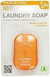 Travelon Laundry Soap Toiletry Sheets - 50 count