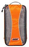 Shoe Box, GOX Premium 420D Nylon Portable Shoe Box Bag Storage / Luggage Packing Cubes / Travel Organizers with Hook (Orange)