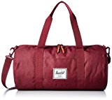 Herschel Supply Co Sutton Mid-Volume Duffle Bag (Winetasting Crosshatch)