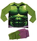 Marvel Boys Kids Avengers Incredible Hulk Pyjamas Pj Set Size UK 3-4 Years