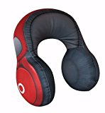 Red Headphones Travel Cushion