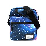 Artone Blue Universe Galaxy Casual Crossbody Bag Campus Shoulder Bag Fit iPad