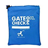 Gate Check Pro XL Double Stroller | Pram & Pushchair Travel Bag | Ultra Durable Ballistic Nylon | Travel System Featuring Padded Backpack Shoulder Straps for Comfort (Made By the #1 Specialist Brand)