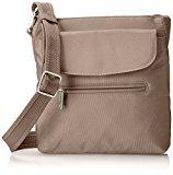 Travelon Anti-Theft Classic Mini Shoulder Bag, Stone, One Size