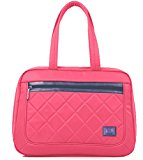 Maisie Tote Ladies Laptop Bag For Laptops, Macbooks, Netbooks, Ultrabooks, Chromebooks, Surface Up To 15 Inch From tagsbags (Pink)
