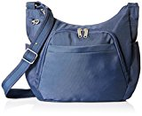 Travelon Anti-Theft Classic Crossbody Bucket Bag (Midnight)