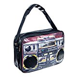 Blue Banana Tape Speaker Bag (Brown) - One Size