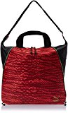 PUMA Avenue Women's Shopper Bag Red Jester Red-Black-Snakeskin Graphic Size:35 x 40 x 5 x cm