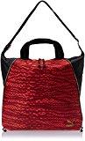 PUMA Avenue Women's Shopper Bag Red Jester Red-Black-Snakeskin Graphic Size:35 x 40 x 5 x cm