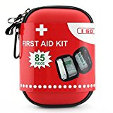 I Go A1FA08 Expedition First Aid Kit, Red Hiking Travel Emergency & Survival