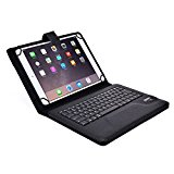 Huawei MediaPad 10 FHD, 10 Link, 10 Link+ keyboard case, COOPER INFINITE EXECUTIVE 2-in-1 Wireless Bluetooth Keyboard Magnetic Leather Travel Cases Cover Holder Folio Portfolio + Stand (Black)