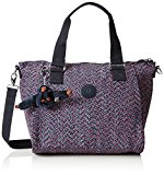 Kipling Women's Amiel Top-Handle Bag, Multicolor (REF34K Mini Geo), 27x24.5x14.5 cm (B X H X T)