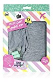 Inflight Comfort Kit Grey and Turquoise