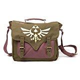 Legend of Zelda Triforce Logo Satchel Style Messenger Bag (Gold)