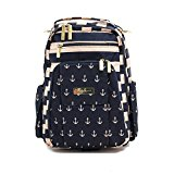 Ju Ju Be Be Right Back Backpack Diaper Bag (The Commodore)
