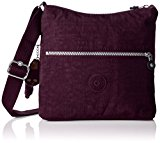 Kipling Women's Zamor Cross-Body Bag, Purple (REF34Z Plum Purple), 25.5x24.5x4 cm (B X H X T)