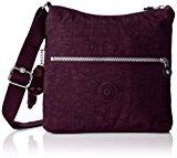 Kipling Women's Zamor Cross-Body Bag, Purple (REF34Z Plum Purple), 25.5x24.5x4 cm (B X H X T)