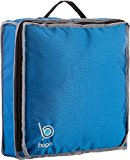 Bago Shoe Bag for Travel - Hanging Packing Cubes for Women , Man , Kids , Storage ,Gym - 100% Satisfaction Guaranty. Modular Pouch for 1 or 2 sets of Shoes (Blue)