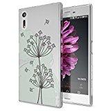 nica Premium Protective Case TPU Silicone SONY XPERIA XA Smartphone, Designs:Dandelion Bubbles