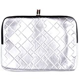 JAM Metallic Silver Fabric Cover Sleeve For 15