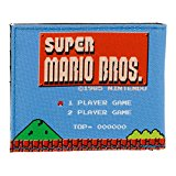 NINTENDO Super Mario Bros. 1985sMW1PX6SMS Retro Gameplay Bi-fold Wallet