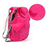 BXT Smart Twin Straps Travel Essential Nylon Bag Backpack Lightweight Travel Water-resistant Storage Bag Sports Duffle Tote
