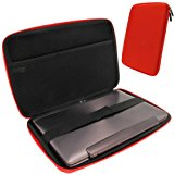 iGadgitz Italian Racing Red EVA Travel Hard Case for Various Asus 10.1