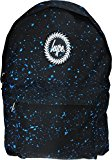Hype Speckled Backpack Rucksack Bag Black/Sky Blue