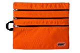 Boarding Zipper Bag, GOX Premium 420D Nylon Portable Packing Pouches / Zipper / Zipped Bag / Travel Storage Organizer for Boarding (Orange)