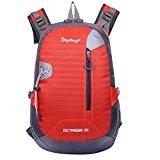 Keral Outdoor Travel Waterproof Adjustable Shoulder Strap Sports Backpack Orange