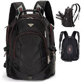 FreeBiz 18.4 Inches to 19 Inches Laptop Backpack Fits up to 18.4 and 19 Inches Travel Backpack Gaming Laptops for Dell, Asus, Msi,Hp (Black)