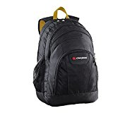 Caribee Rhine School/ College Laptop Backpack Casual Daypack, 50 cm, 35 Liters, Black