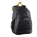 Caribee Rhine School/ College Laptop Backpack Casual Daypack, 50 cm, 35 Liters, Black