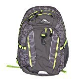 The High Sierra RIPRAP Daypack Laptop Lifestyle Backpack Bag Grey Camouflage